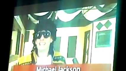"Michael Jackson spoof of ""We Are The World"""