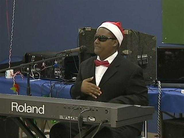 He's been dubbed Pittsburgh's Stevie Wonder, and much like his musical predecessor, 14-year-old prodigy Shailen Abram is inspiring others through music.