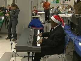 Now he's using his musical talent to show others that they can achieve their dreams as well.