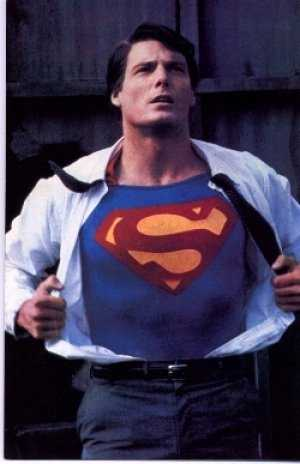 Childhood crush: Christopher Reeve as Superman