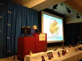The Caring Place helps children and adolescents, as well as their families, cope with the death of a loved one. Channel 4 Action News anchor Sally Wiggin has been reading a story every year for over a decade at the Ceremony of Remembrance. The stories are often about cherishing memories .
