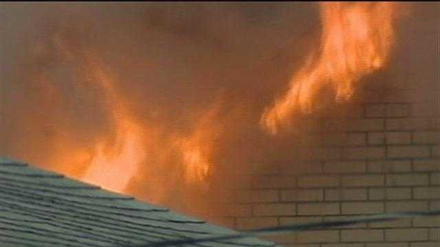 Neighbor saves family from burning home