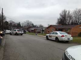 One person died in a violent home invasion Wednesday morning on Edinburg Drive in Penn Hills.