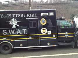 The Pittsburgh SWAT team was called to a standoff in the Lincoln Place area on Wednesday morning.