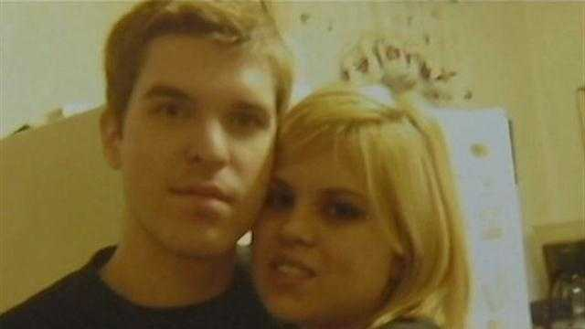 Jeffery Horner Jr. with his girlfriend, Cassandra Dunseath