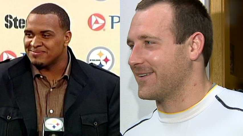 Maurkice Pouncey, Heath Miller