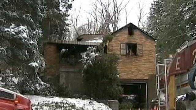 Mt. Lebanon house fire 02