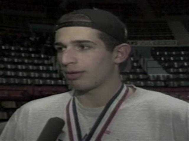 When he graduated, Sauer was the team's all-time leading scorer.