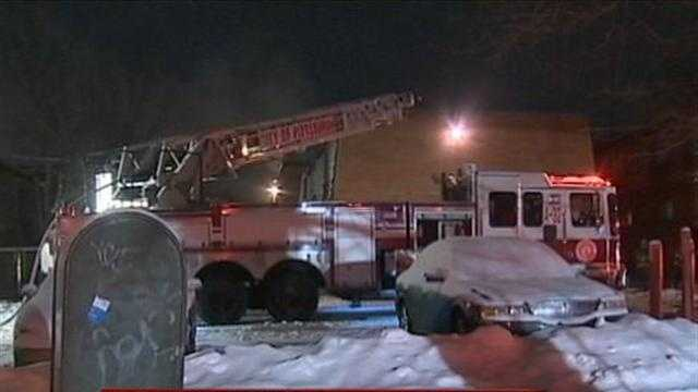 Fire damages 2 homes in East Liberty
