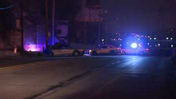 A woman was killed overnight in a single-vehicle crash along Route 28.