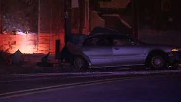Temmel crashed into a light pole in the inbound lanes of Route 28, near St. Nicholas Church, about 12:30 a.m. Monday, police said.