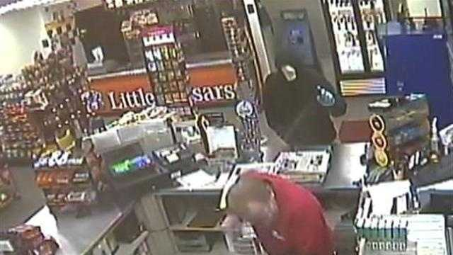 Surveillance video from BP on Route 51 in Rostraver Township