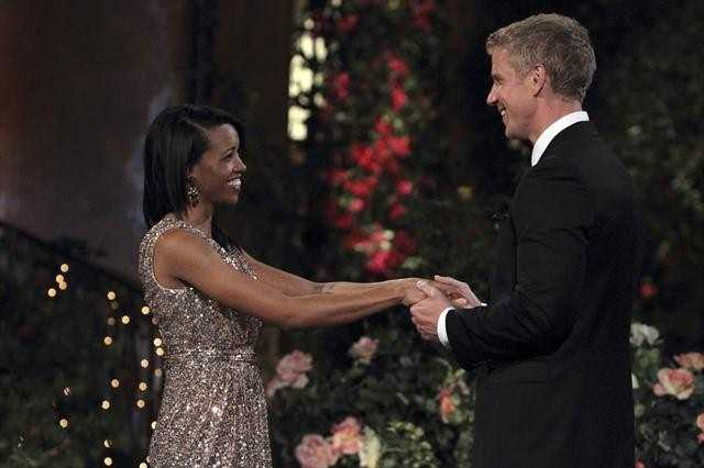 Sean Lowe, the Bachelor, meets Robyn