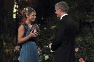 Sean Lowe, the Bachelor, meets Lesley M