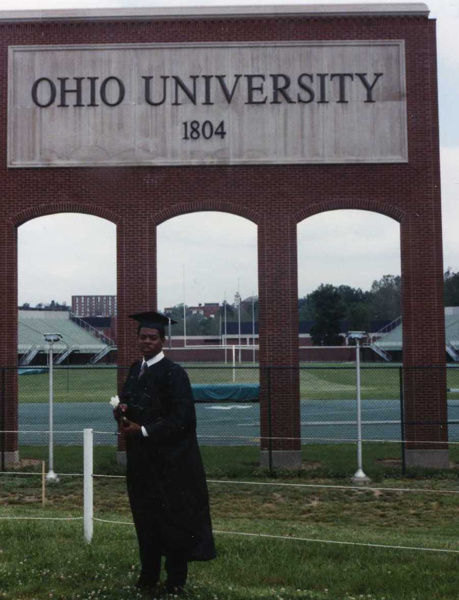 #19 - Andrew graduated from the Honors Tutorial College at Ohio University.