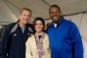 #2 - Andrew co-emceed the Susan G. Komen Pittsburgh Race for the Cure with Michelle Wright.