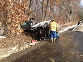 Two unidentified children died in a crash on Harmony Road in Connoquenessing, Butler County.
