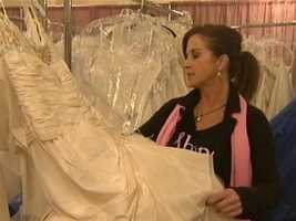 """Tour manager Michelle Brault said brides are finding the """"gown of their dreams."""""""