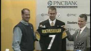 Steelers draft Ben Roethlisberger