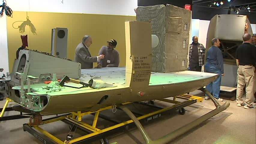 Several Vietnam War veterans came together for a labor of love at the Heinz History Center.