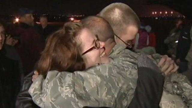 911th Airlift Wing comes home