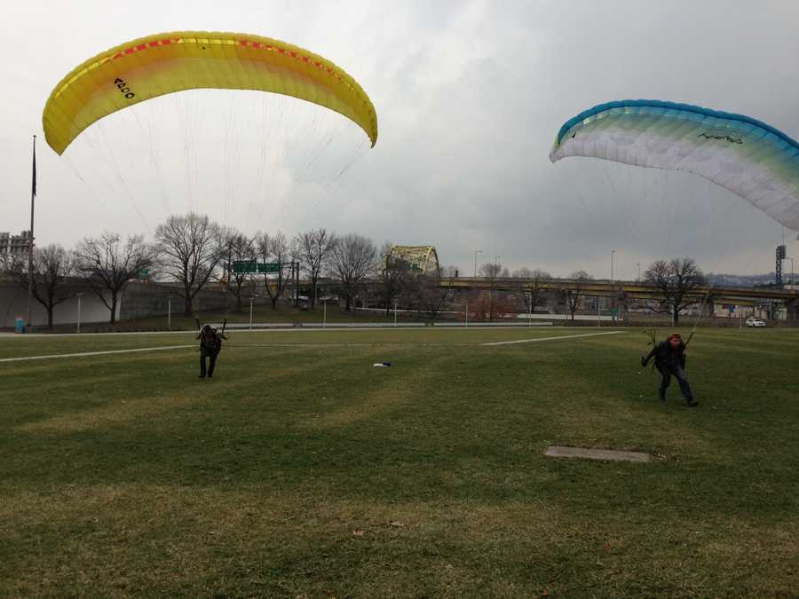 The two have since teamed up to launch Pittsburgh Paragliding to teach others.