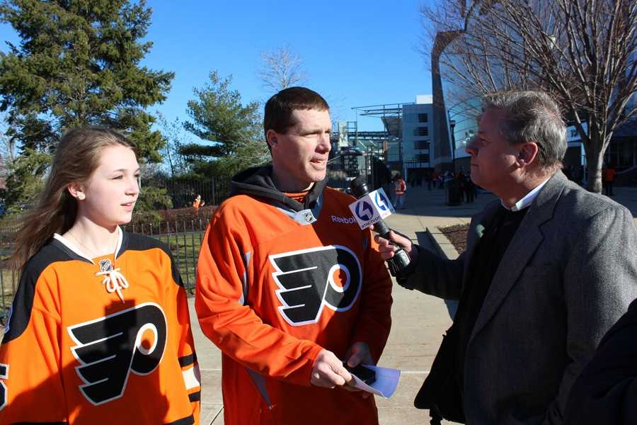 Action News Guy Junker asks some local Flyers fans what they think of the Flyers-Penguins rivalry.