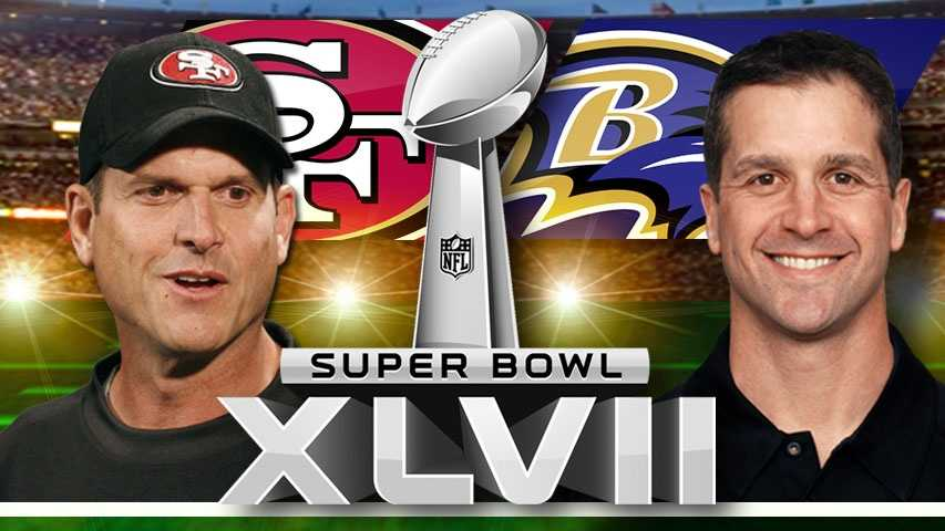 Super Bowl XLVII Harbaugh vs Harbaugh