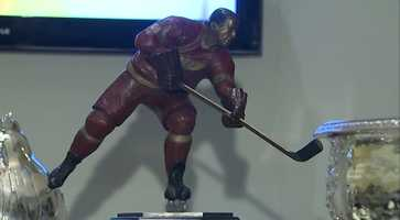 The Ted Lindsay Award (given to the most outstanding player)