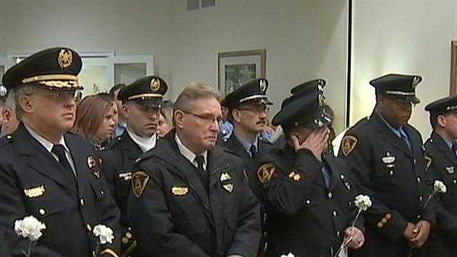Memorial service for Ed Alexander