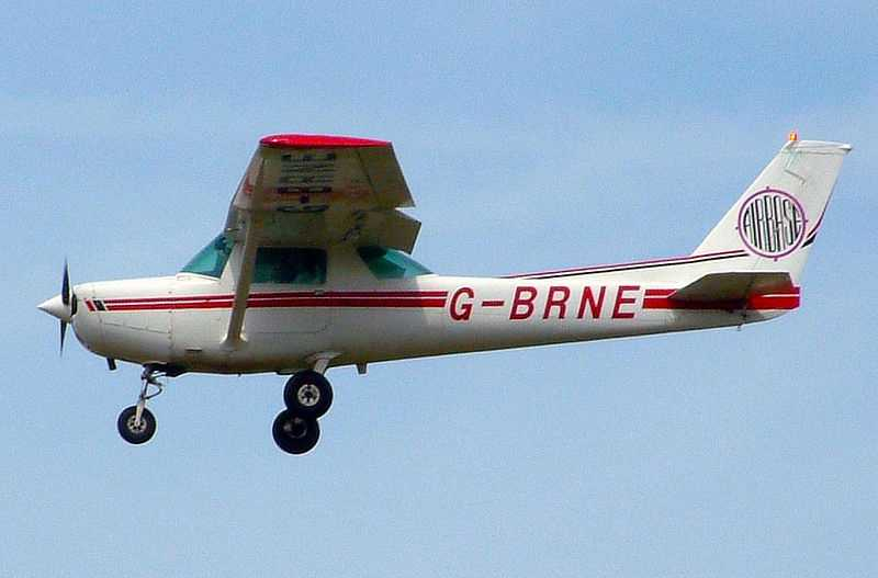 #2 - Mike learned to fly Cessna 152's while in College.