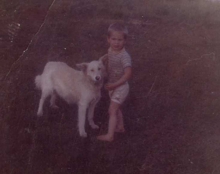 """#12 - Mike's first dog was named """"Shad-rack"""". Still doesn't know why the dog was given that name."""
