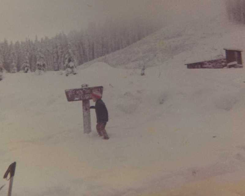 #10 - Mike started skiing at the age of 3. He started breaking bones by the time he was 5.