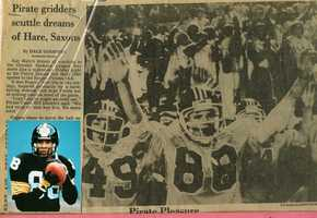 #11 - Mike's High School Football jersey was #88. The number of his favorite player, Lynn Swann.