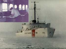 # 6 - Mike served as a navigator on a Ice Breaker with the United States Coast Guard.