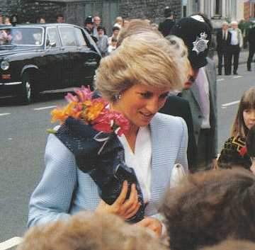 #13 - Mike met one of the most famous people in the world... The late Princess Diana of the United Kingdom.