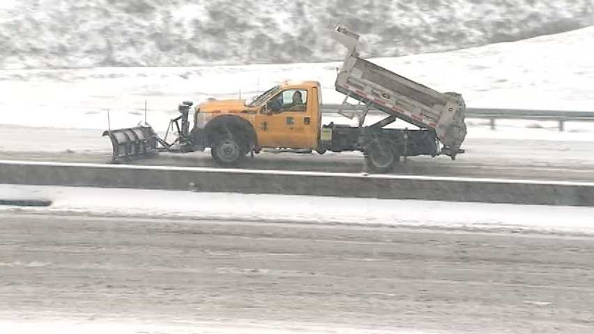 PennDOT snow plow