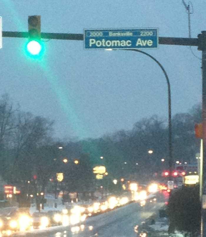 Potomac Avenue in Banksville