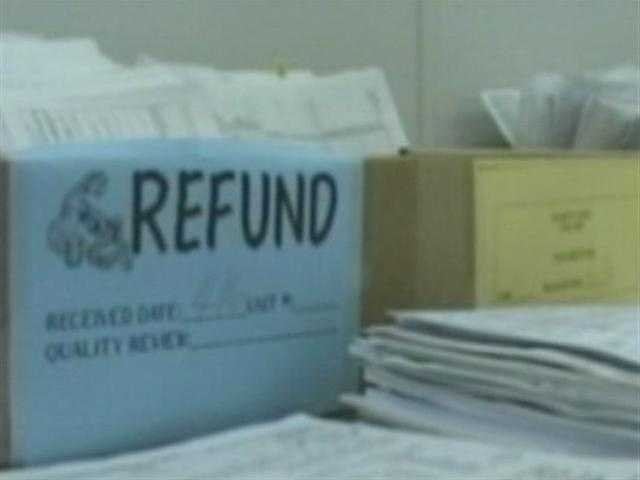"""One thing to watch out for is a tax preparer who is claiming that they can speed up a client's refund time,"" said Jenkins."