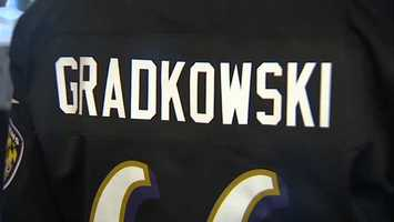 Debbie Gradkowski says enticing the Black & Gold faithful to cross enemy lines and root for the Ravens has already been a challenge.