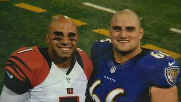 """You know, he's a little jealous, but he's happy for me. He's been a great resource for me the whole time. A great person to ask any questions,"" Gino Gradkowski said of his older brother."