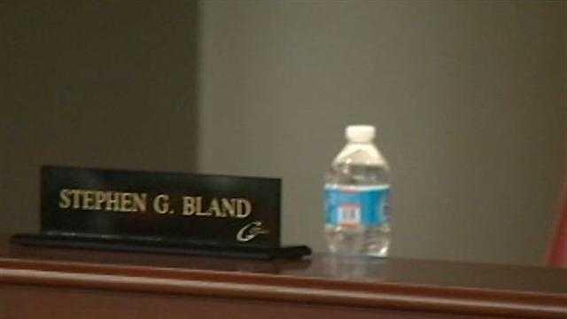 Steve Bland empty chair