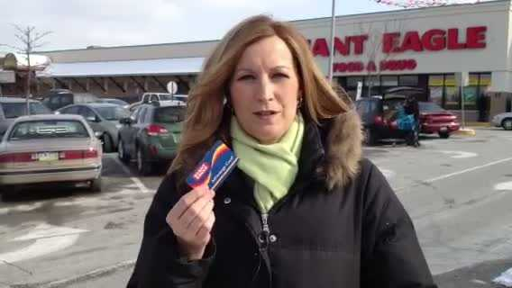 Shannon Perrine reports at Giant Eagle