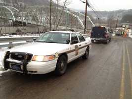 Hazmat crews were called to a chemical spill in Bell Township, Westmoreland County.