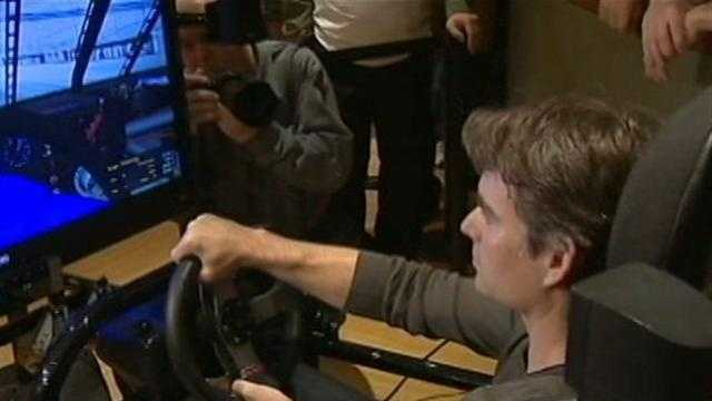 Video: Jeff Gordon makes pit stop at Rivers Casino