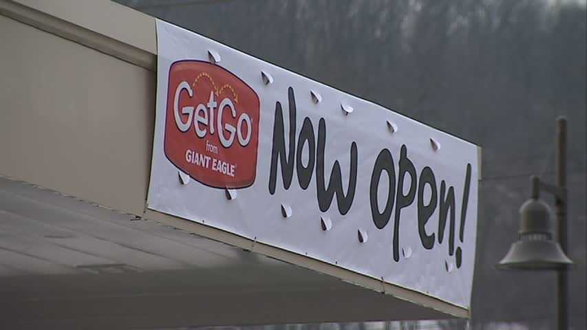 Giant Eagle has opened a new GetGo gas station and convenience store on the South Side.
