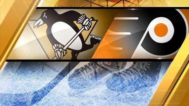 Penguins vs Flyers logo (2013)