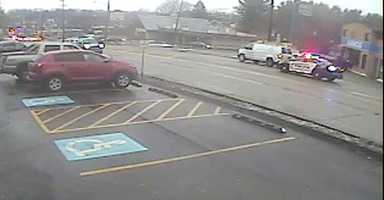 Surveillance video image from a Route 51 business.