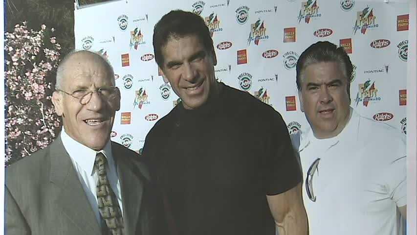 """Bruno Sammartino and """"The Incredible Hulk"""" Lou Ferrigno"""
