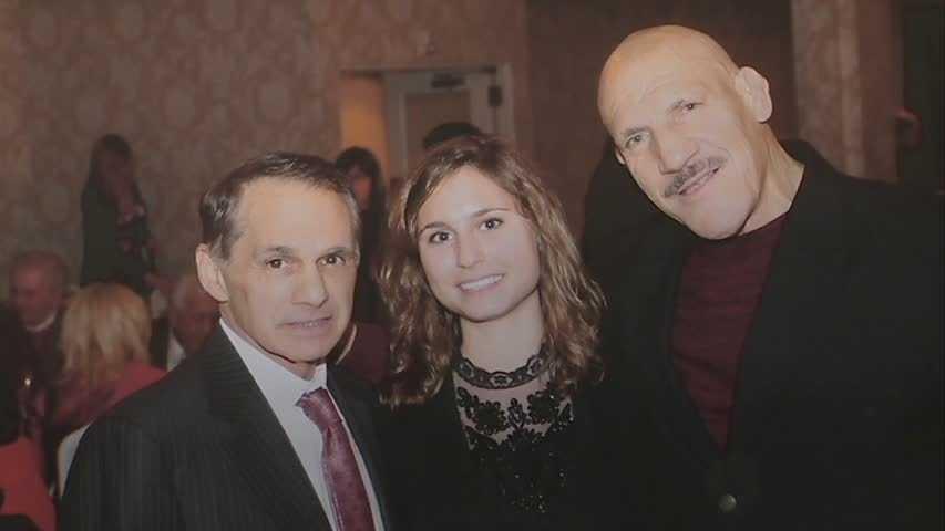 Dr. Joseph Maroon and Bruno Sammartino